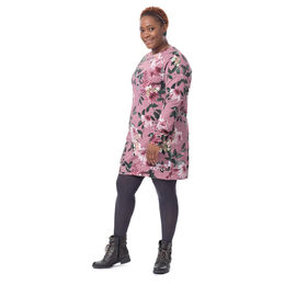 COLLEGEtunic (Punahattu dusty rose stretch college)