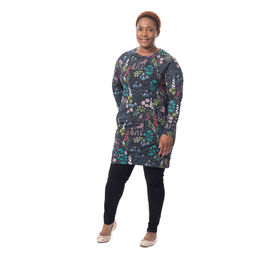 COLLEGEtunic raglansleeve (Kauris multicolor stretch college)