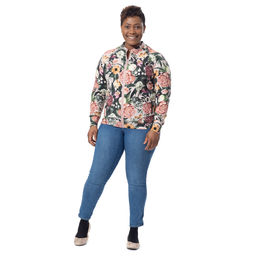 BOMBERjacket womens (Kukkaiskylpy powder stretch college)