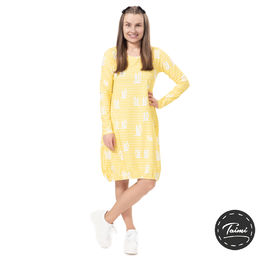 HEMMAdress (Pupujemma lemon tricot)