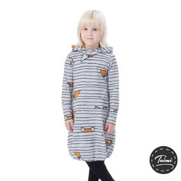 JEMMAdress girls (Kettujemma melange tricot)