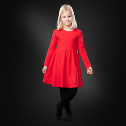 KISSANKELLOdress (red tricot)