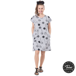 KESÄdress womens SS (Tikkarit grey melange tricot)