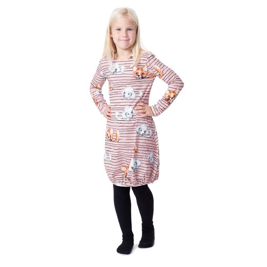 HEMMAdress kids (Koirajemma light pink tricot)