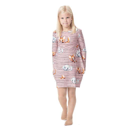 MAATUSKAdress girls (Koirajemma light pink tricot)