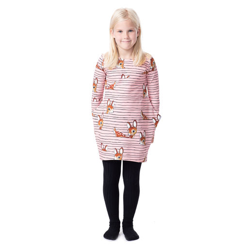 MUISTA ILOtunic (Bambijemma pink/brown stretch college)