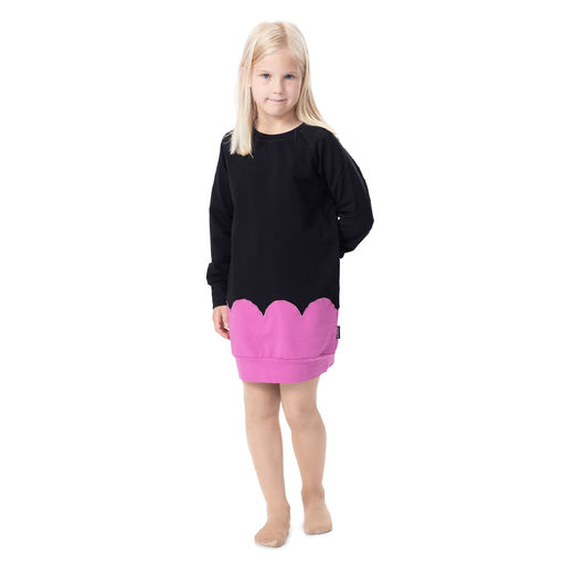 PIPARKAKKUtunic (black/dusty pink stretch college)
