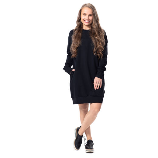 COLLEGEtunic (Black stretch college)