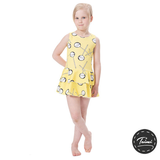 FIFTARIhelledress (Tikkarit yellow tricot)