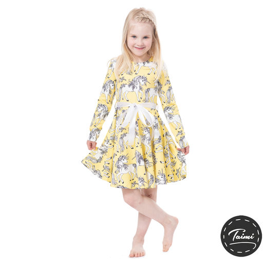 FIFTARIdress (Yksisarviset yellow tricot)