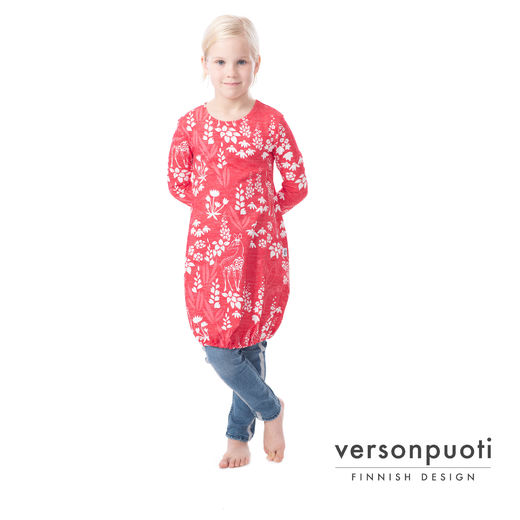 HEMMAdress kids (Kauris raspberry tricot)