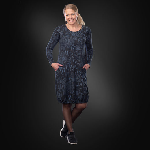 HEMMAdress (Korven kuningas black/blue tricot)