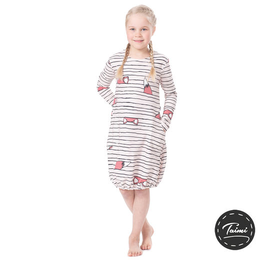 HEMMAdress kids (Kettujemma soft pink/wine stretch college)