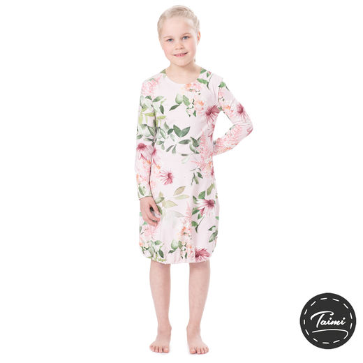 HEMMAdress kids (Punahattu light pink tricot)