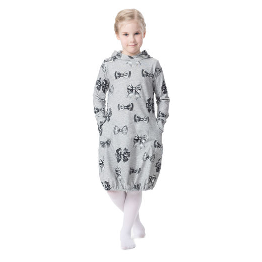 JEMMAdress girls (Rusetti grey tricot)