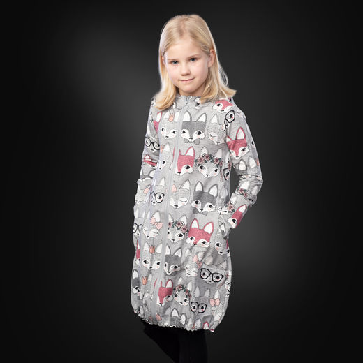 JEMMAjacket kids (Kutsut grey/pink college)