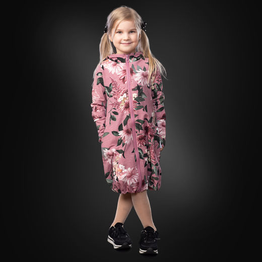 JEMMAjacket kids (Punahattu dusty rose stretch college)
