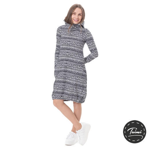 JEMMAdress (Kaino black/white tricot)
