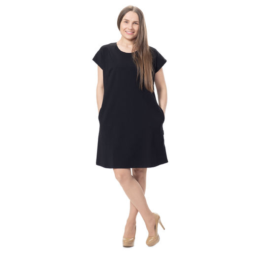 KESÄdress womens SS (black tricot)