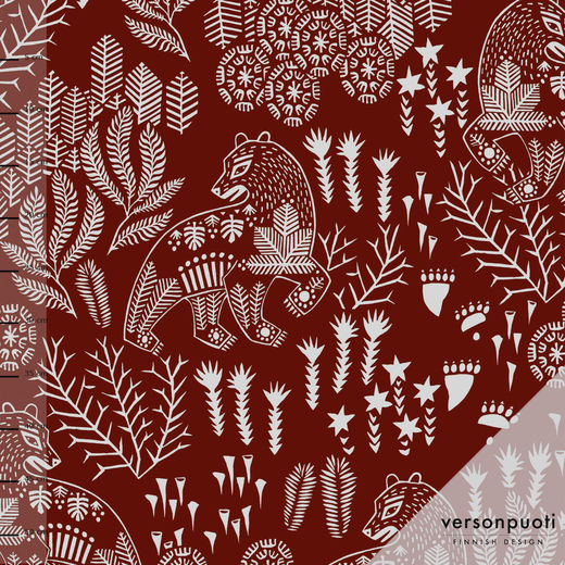 Korven kuningas (winered) tricot