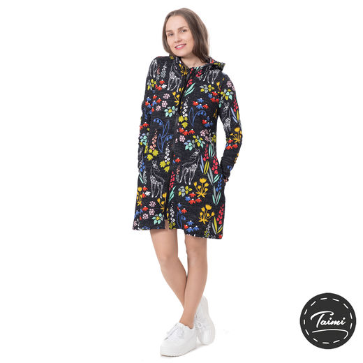 "KOTIdress ""original"" (Sielulintu black/multicolor stretch college)"