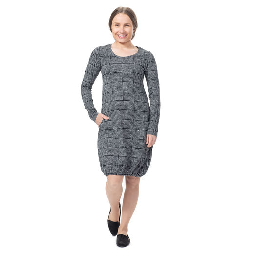 HEMMAdress (Helmenkalastaja black/white tricot)