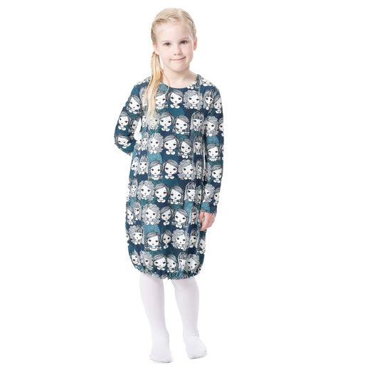 HEMMAdress kids (Tyttökerho blue tricot)