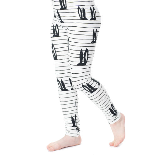 MUKAVAleggings (Pupujemma white/black tricot)