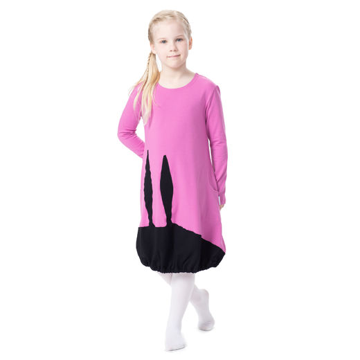 PUPUmekko kids (rose/black tricot)