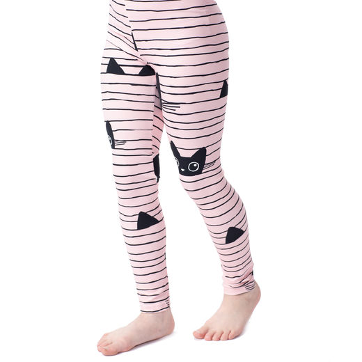 MUKAVAleggings (Kattijemma light pink/black tricot)