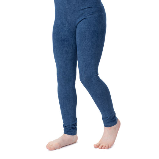 MUKAVAleggings (Farkku blue tricot)
