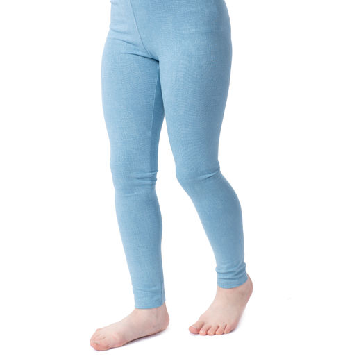 MUKAVAleggings (Farkku light denim tricot)