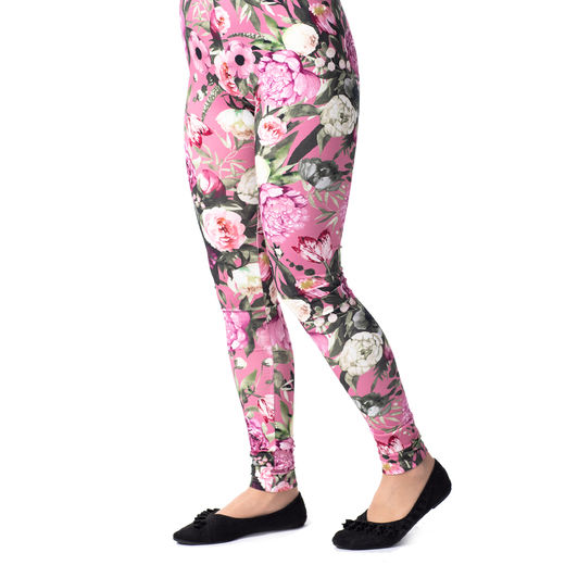 MUKAVAleggings women (Kukkaiskylpy rose tricot)