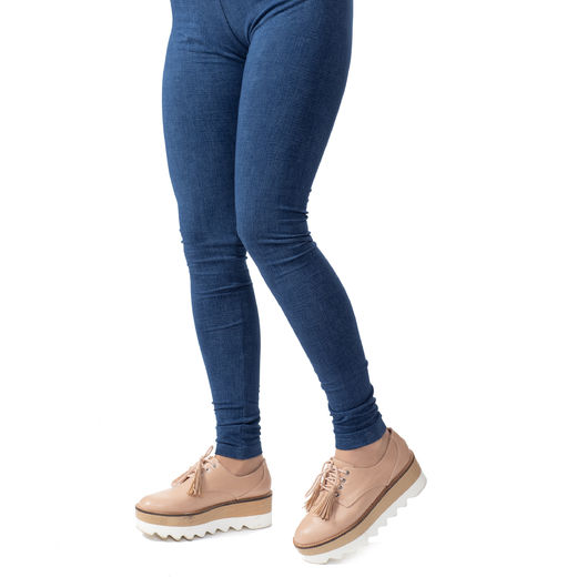 MUKAVAleggings women (Farkku blue tricot)