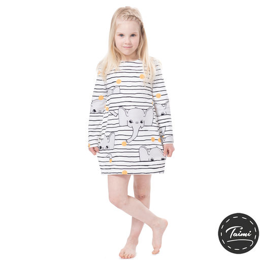 Copy of MAATUSKAdress girls (Lollipops yellow tricot)