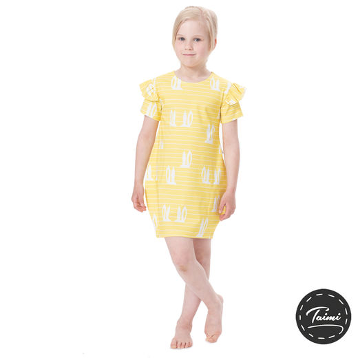 MAATUSKAdress girls SS (Pupujemma citron tricot)