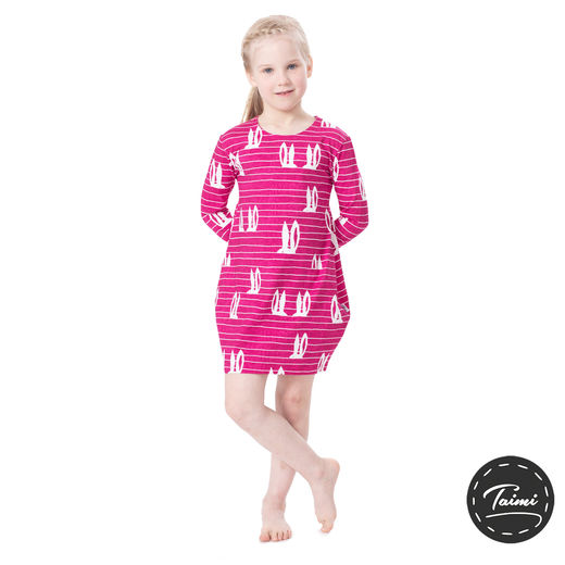MAATUSKAdress girls (Pupujemma pink tricot)