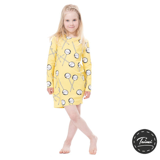 MAATUSKAdress girls (Lollipops yellow tricot)