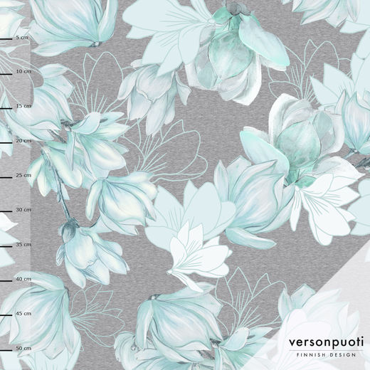 Magnolia (blue/grey) tricot