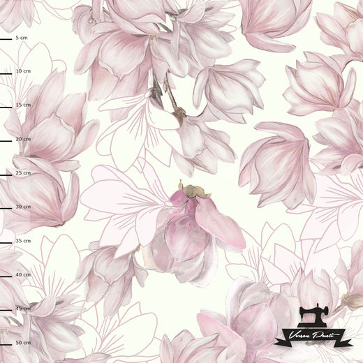 Magnolia (cream/soft pink) digitricot