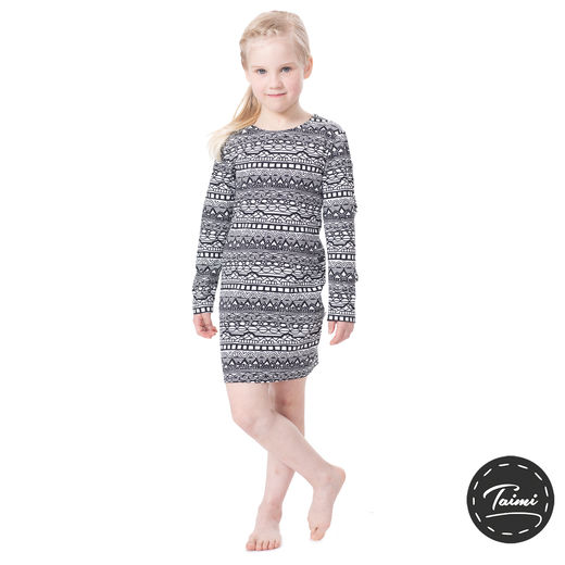 NAAKKAdress girls (Kaino black/white tricot)