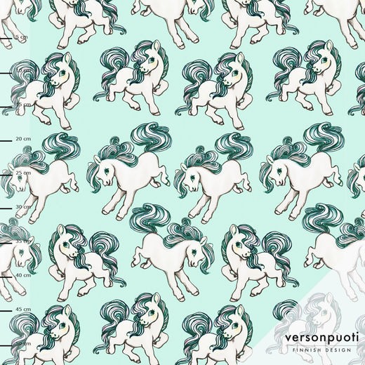 Ponit (mint) digiprint stretch college
