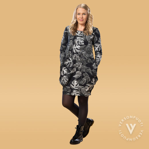 MAATUSKAdress women (Viidakko black/white tricot)