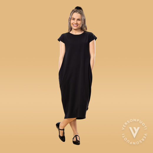 RUNOdress ss women (black tricot)