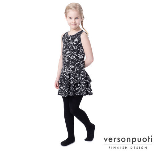 FIFTARIhelledress (Universumi black/white tricot)