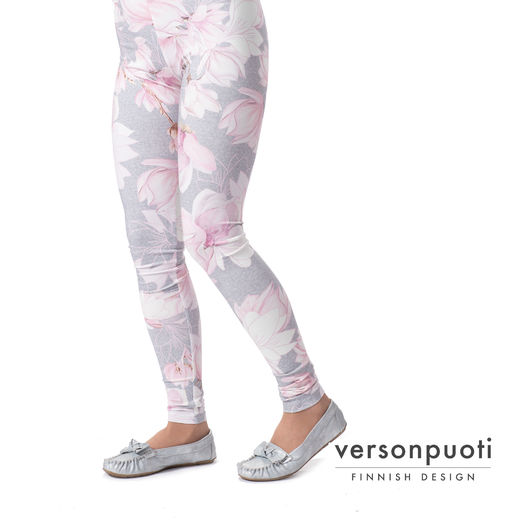 MUKAVAleggings women (Magnolia light pink/grey tricot)
