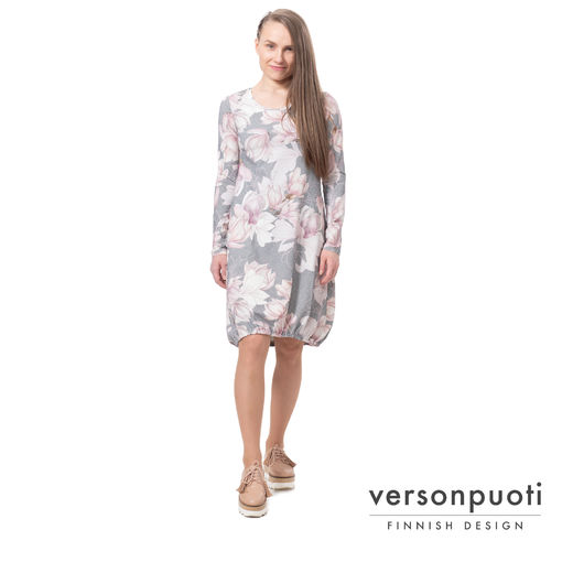 HEMMAdress (Magnolia light pink/grey tricot)