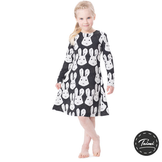 SULLEMULLEdress (Puput black/white tricot)