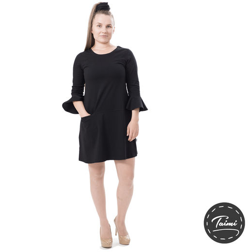 VARPUdress (Finnish made black tricot)