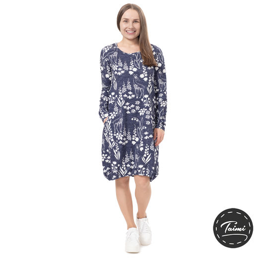 HEMMAdress (Kauris blue tricot)